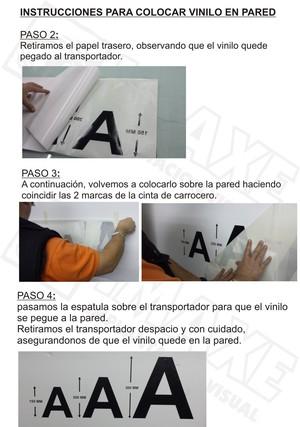 Instrucciones de colocacion